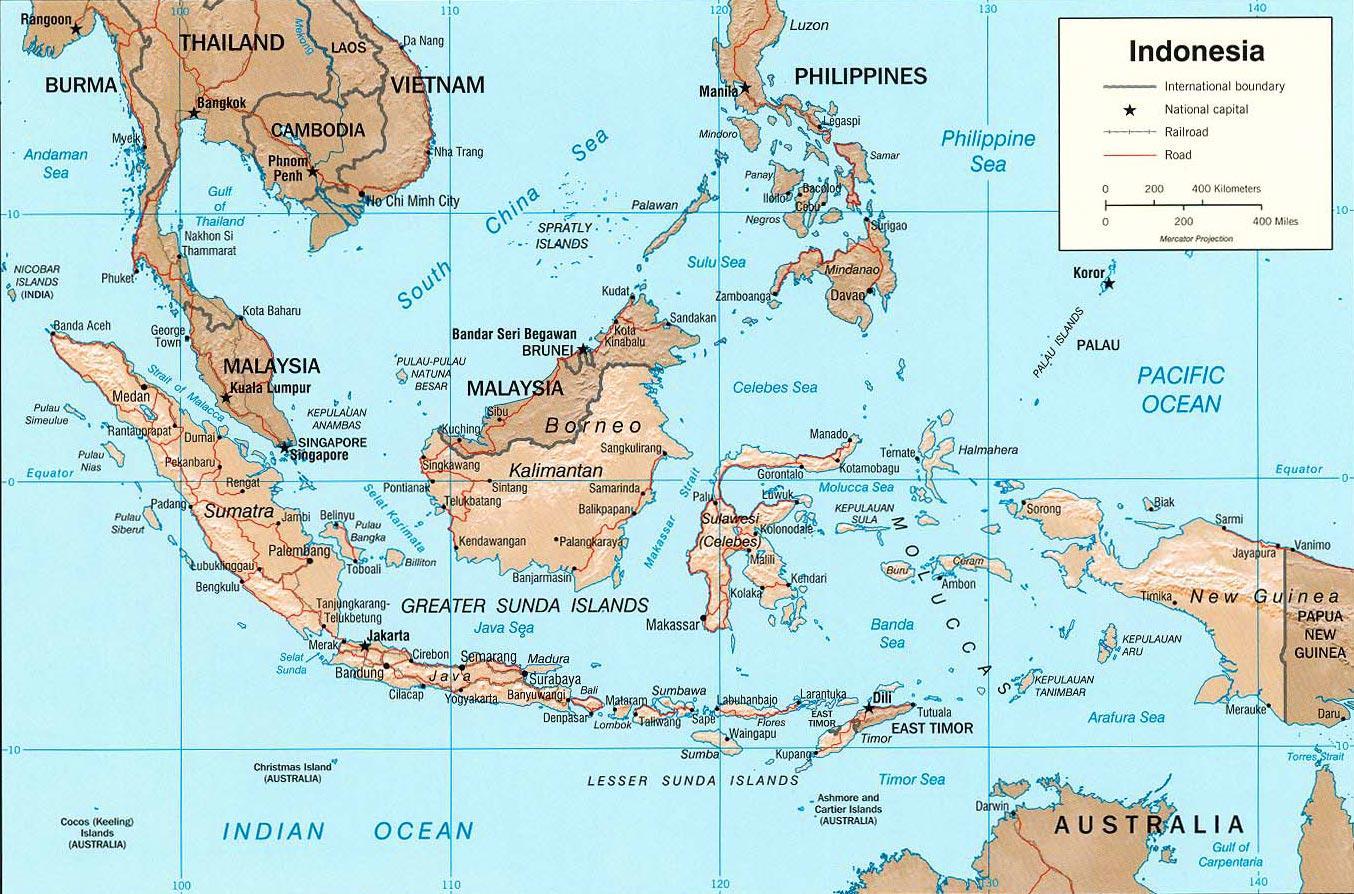 Jakarta Indonesien Kort Jakarta Kort Placering Java Indonesien